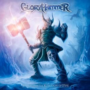 Čia yra grupės pirmojo albumo viršelis. Power metalo viršelis. Overly tipiškas power metalo viršelis.